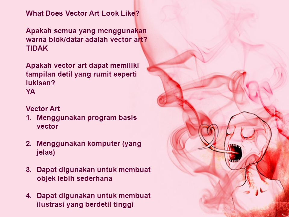 What Does Vector Art Look Like