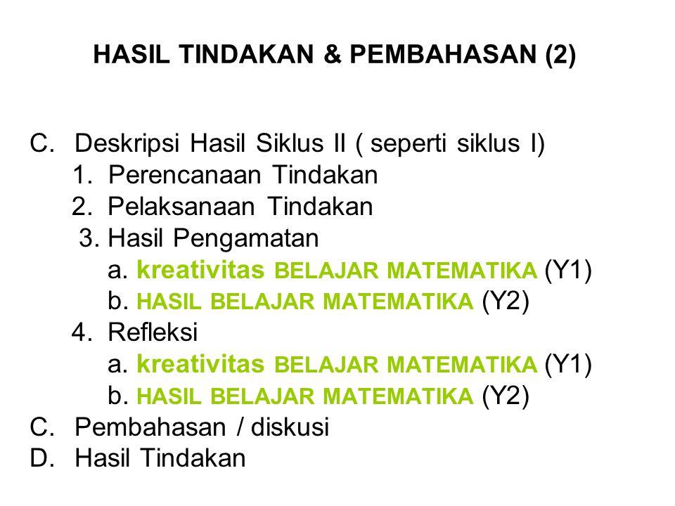 HASIL TINDAKAN & PEMBAHASAN (2)