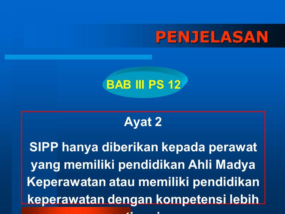 PENJELASAN BAB III PS 12. Ayat 2.