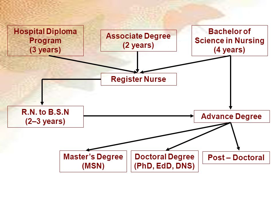 Hospital Diploma Program Bachelor of Science in Nursing