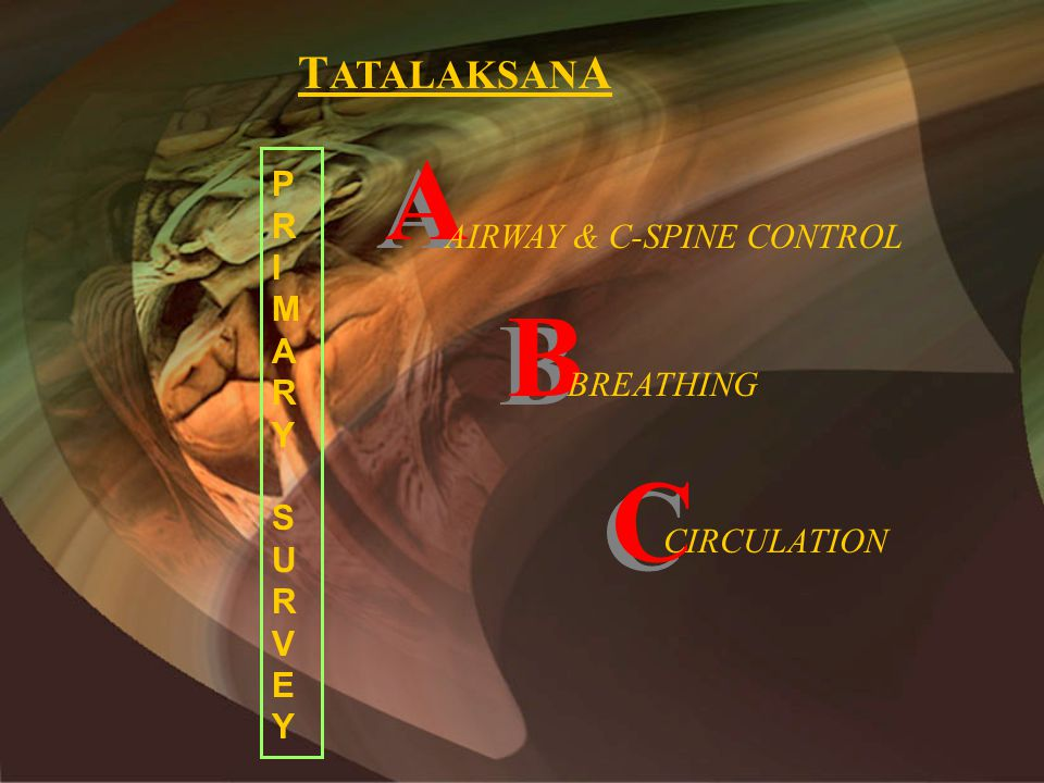 AIRWAY & C-SPINE CONTROL