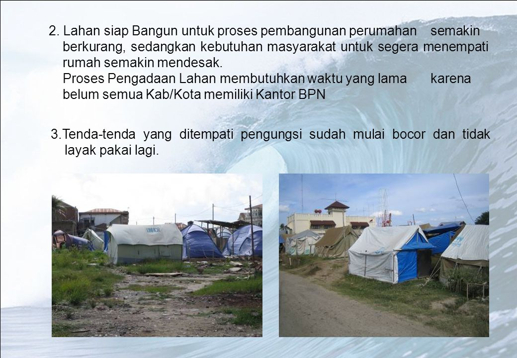 2. Lahan siap Bangun untuk proses pembangunan perumahan. semakin