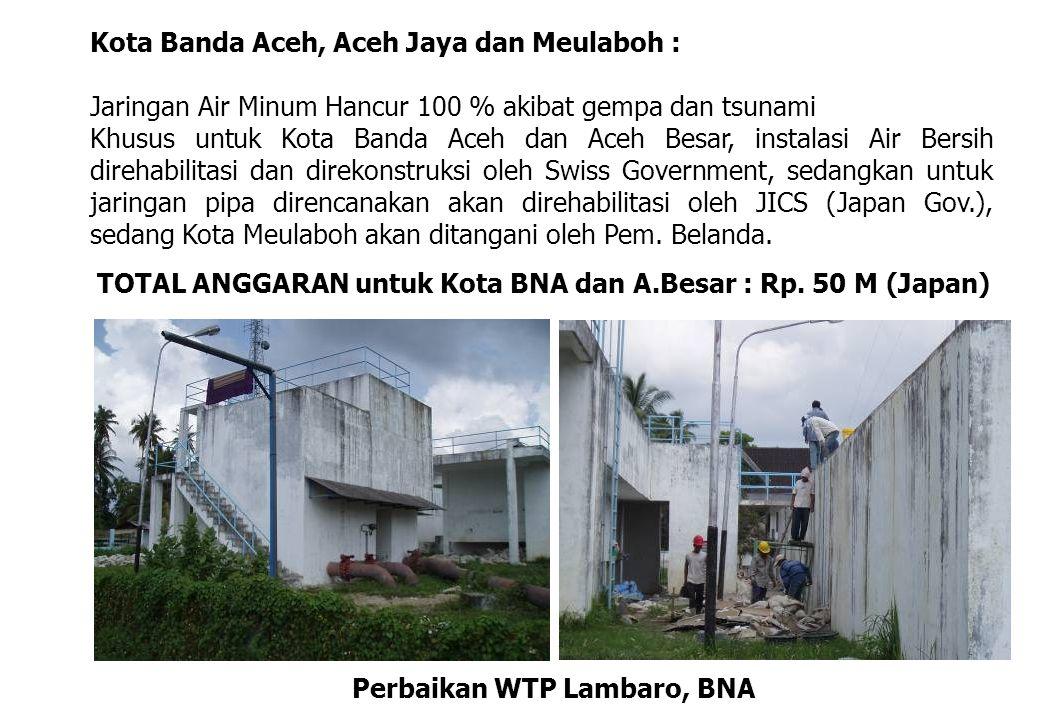 Perbaikan WTP Lambaro, BNA