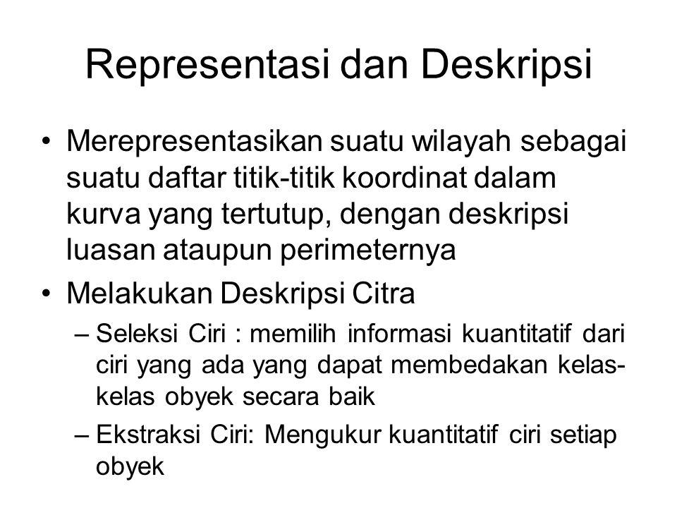 Representasi dan Deskripsi