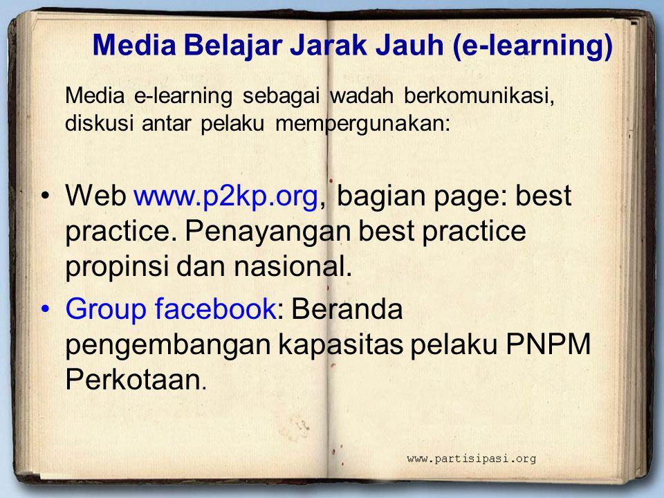 Media Belajar Jarak Jauh (e-learning)