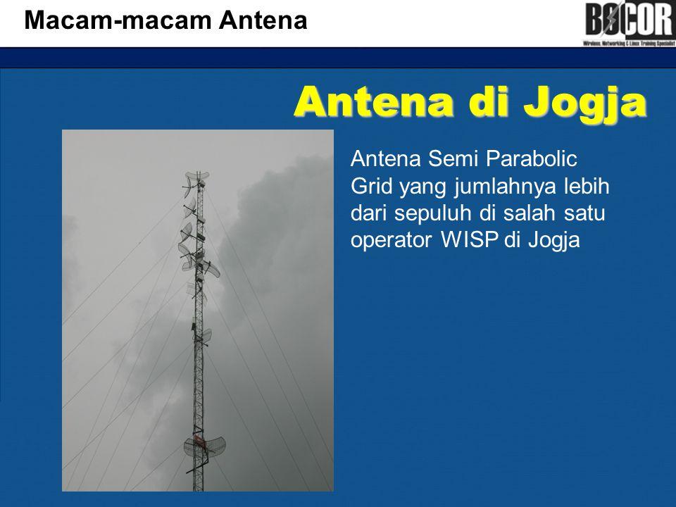 Antena di Jogja Macam-macam Antena
