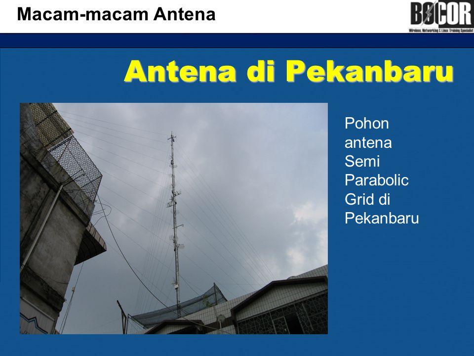 Antena di Pekanbaru Macam-macam Antena