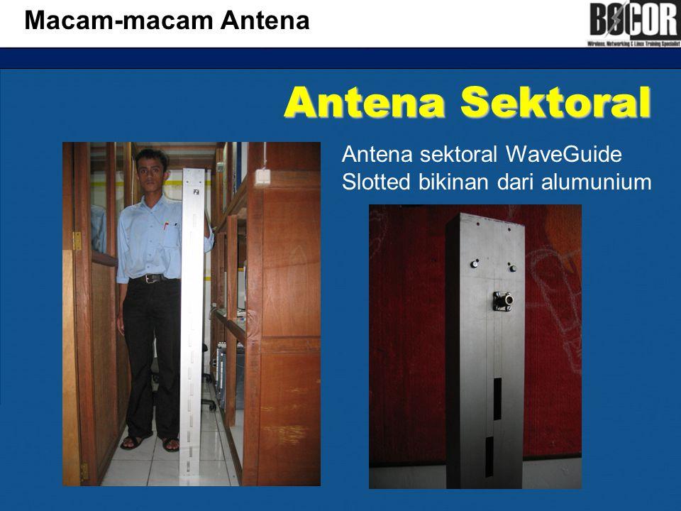 Antena Sektoral Macam-macam Antena
