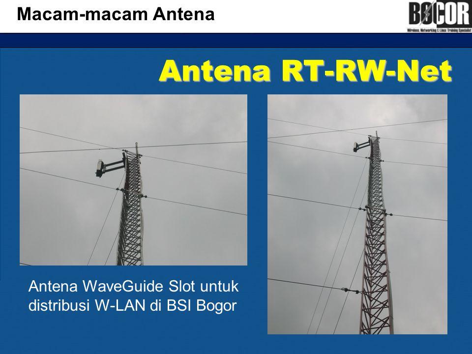 Antena RT-RW-Net Macam-macam Antena