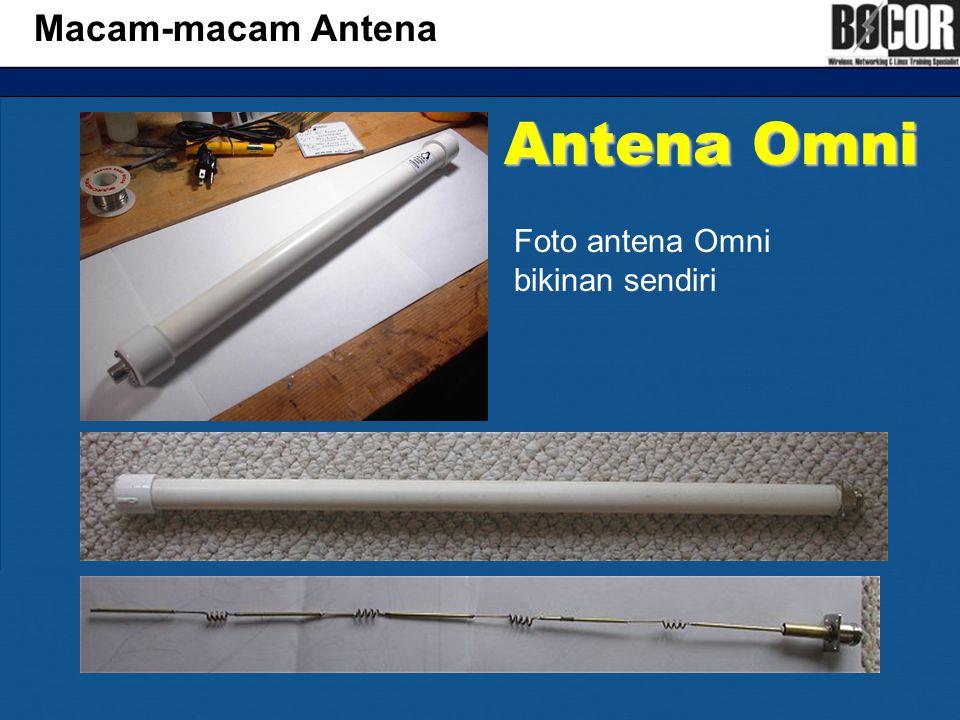Macam-macam Antena Antena Omni Foto antena Omni bikinan sendiri