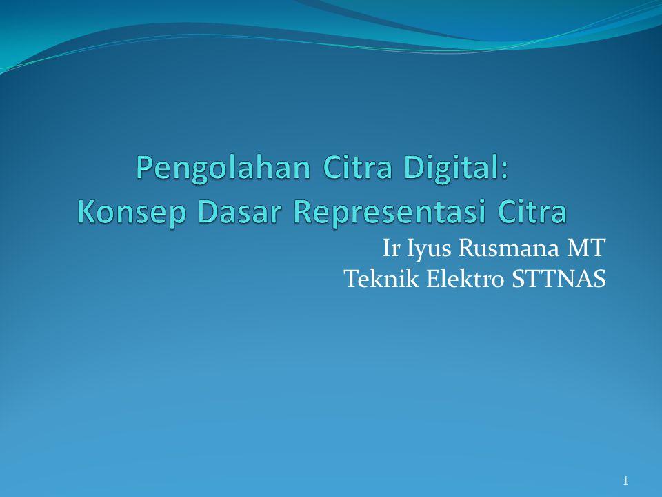 Pengolahan Citra Digital: Konsep Dasar Representasi Citra