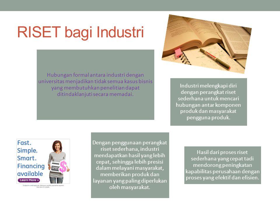 RISET bagi Industri