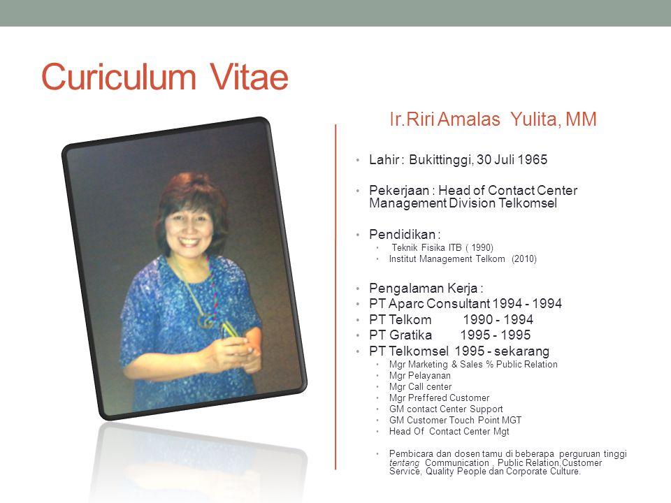 Ir.Riri Amalas Yulita, MM