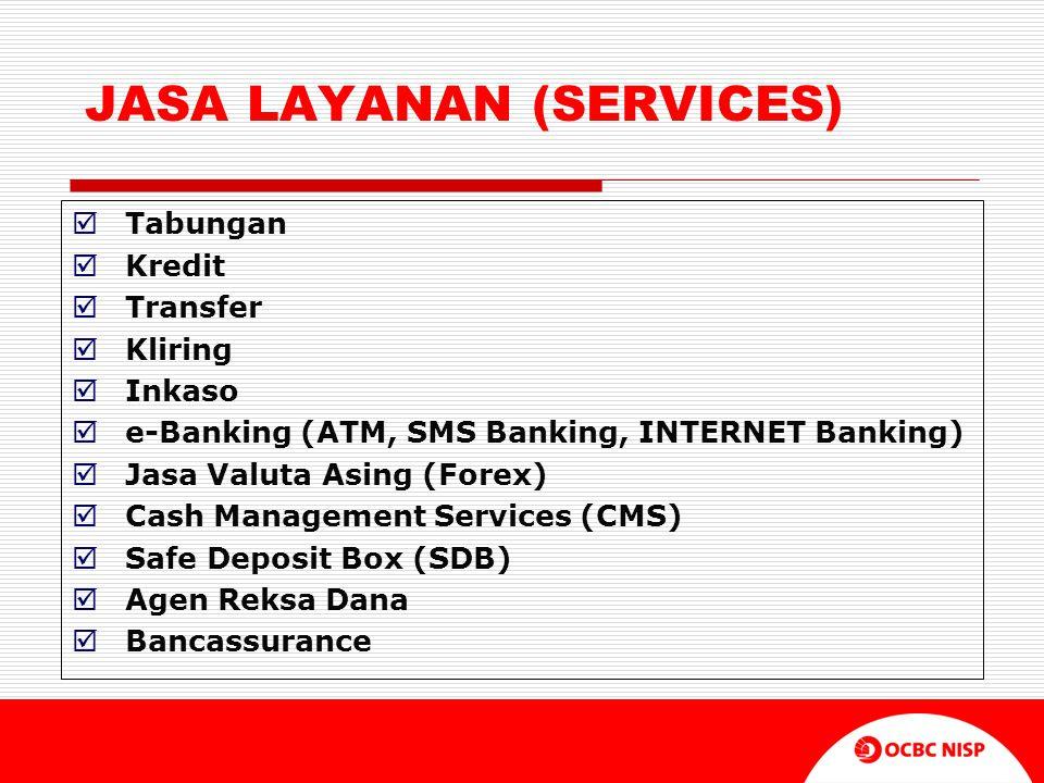 JASA LAYANAN (SERVICES)
