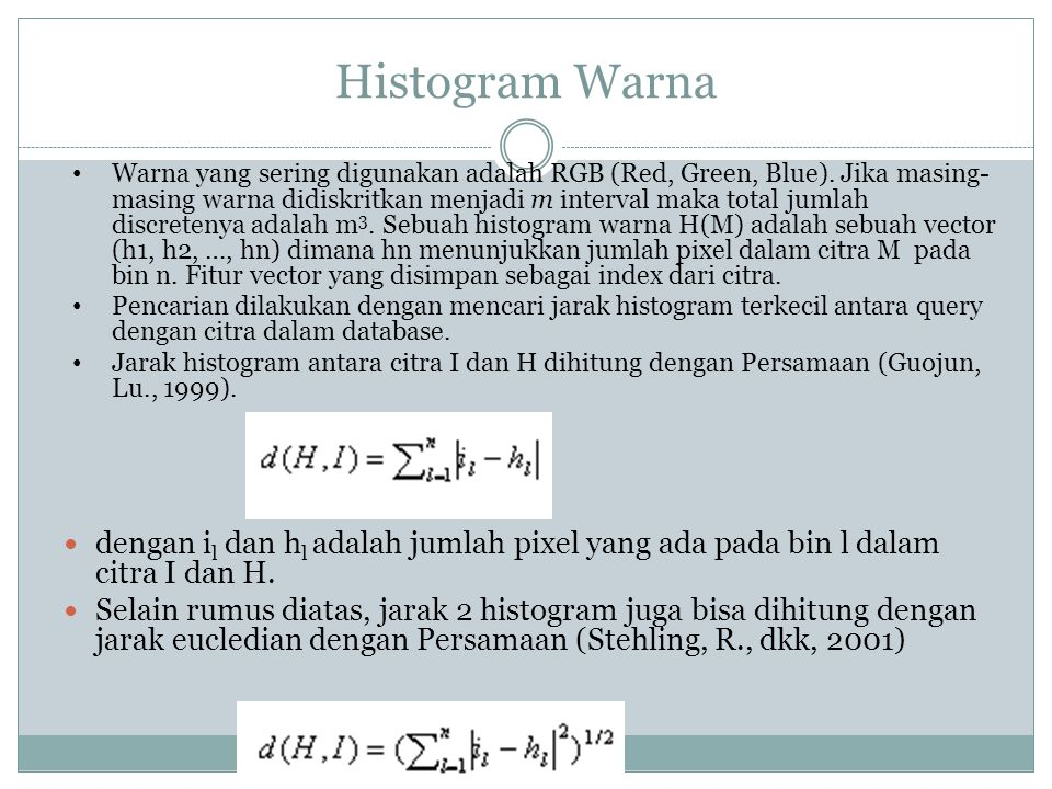 Histogram Warna