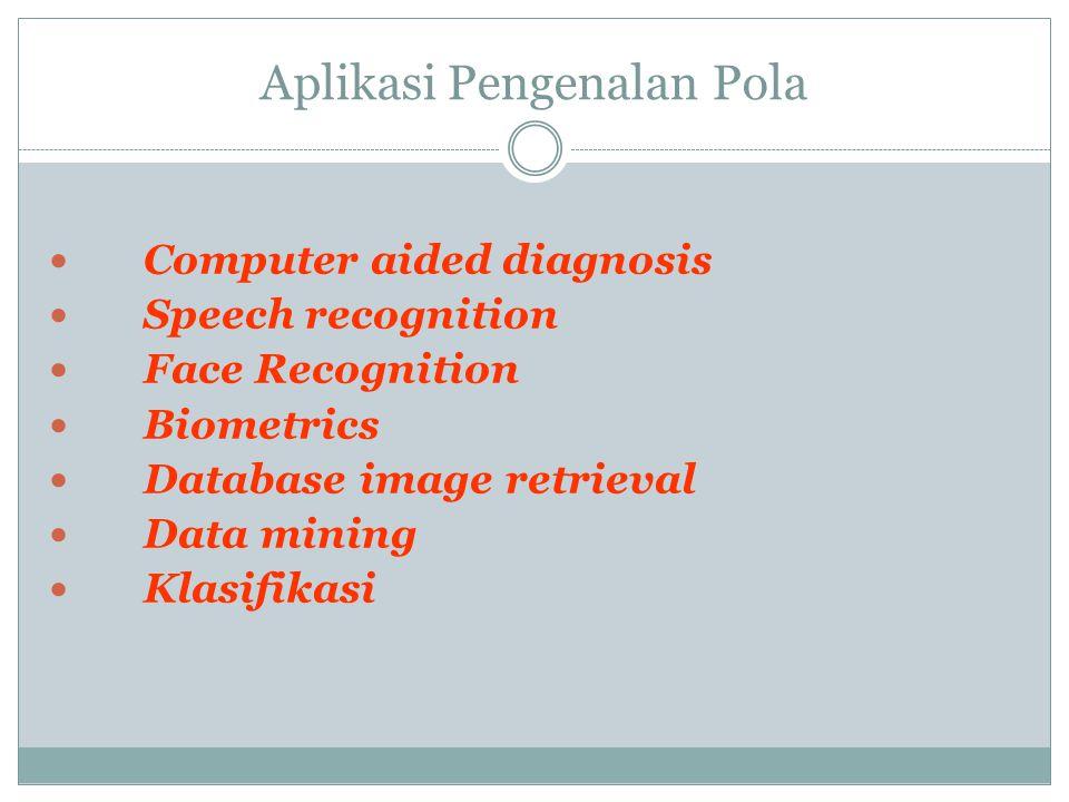 Aplikasi Pengenalan Pola