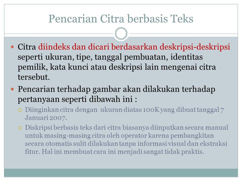 Pencarian Citra berbasis Teks