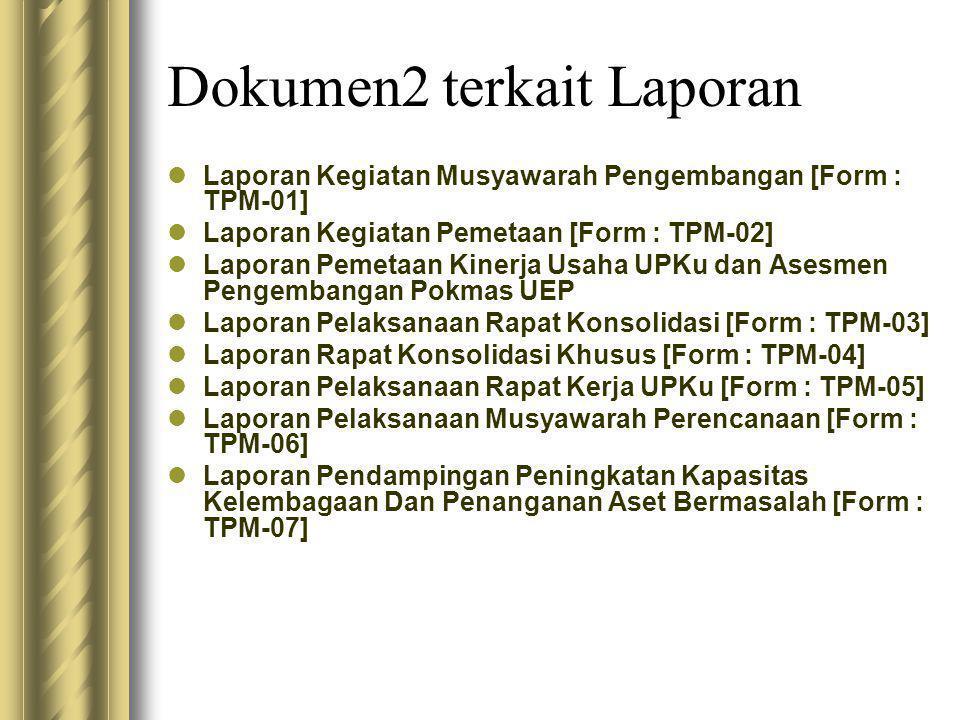 Dokumen2 terkait Laporan