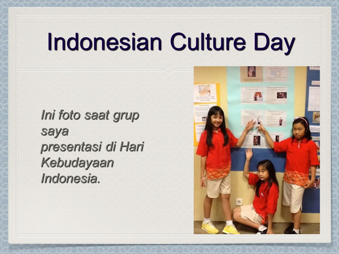Indonesian Culture Day