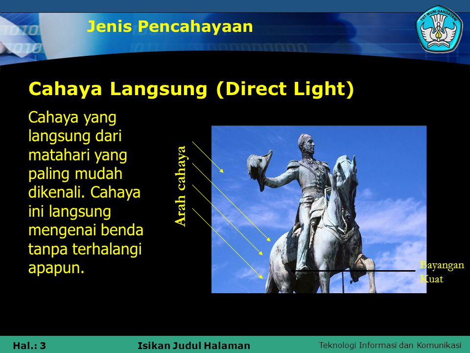 Cahaya Langsung (Direct Light)