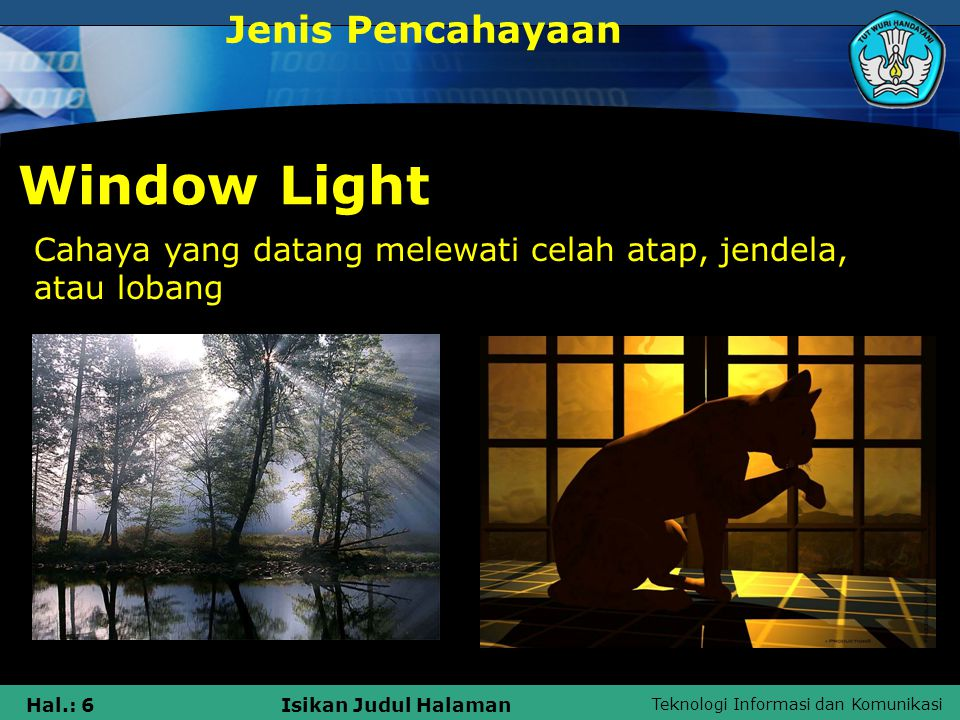 Window Light Jenis Pencahayaan