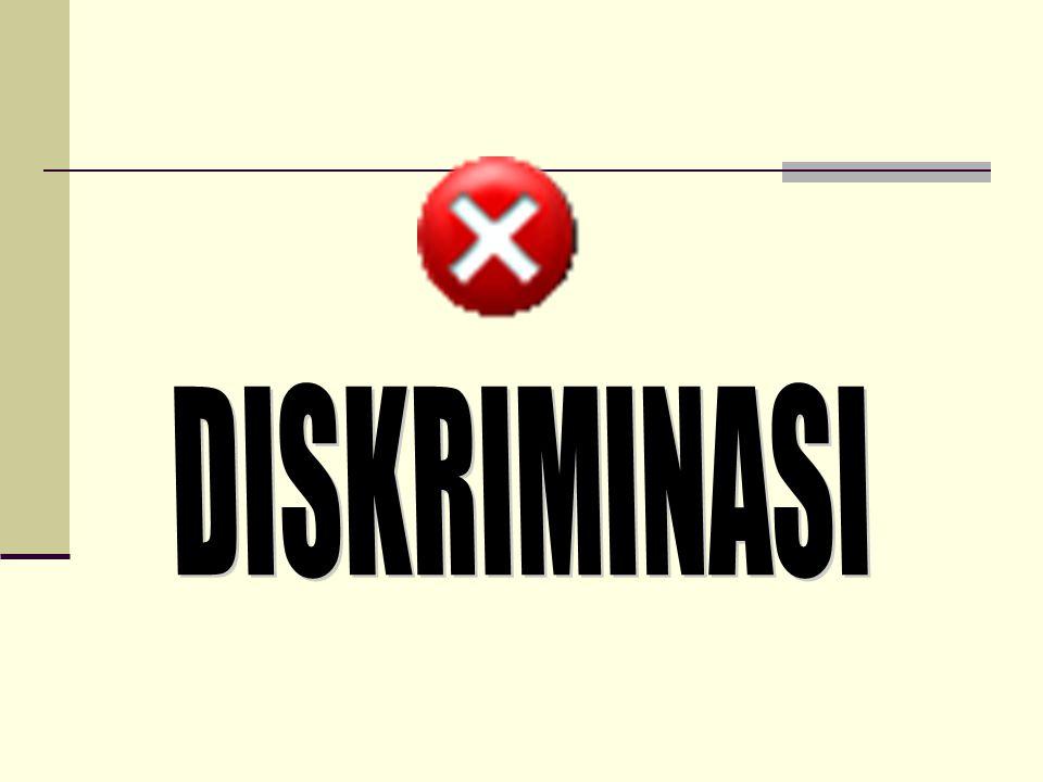 DISKRIMINASI
