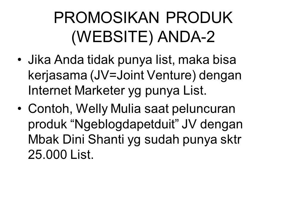 PROMOSIKAN PRODUK (WEBSITE) ANDA-2