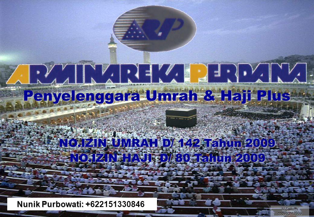 Penyelenggara Umrah & Haji Plus