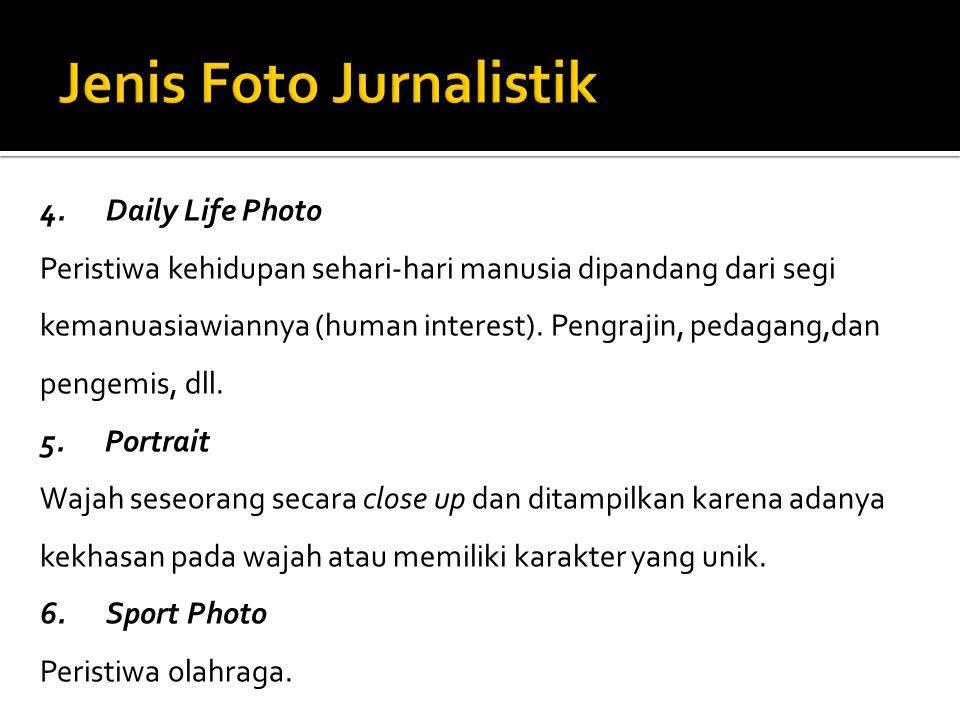Jenis Foto Jurnalistik