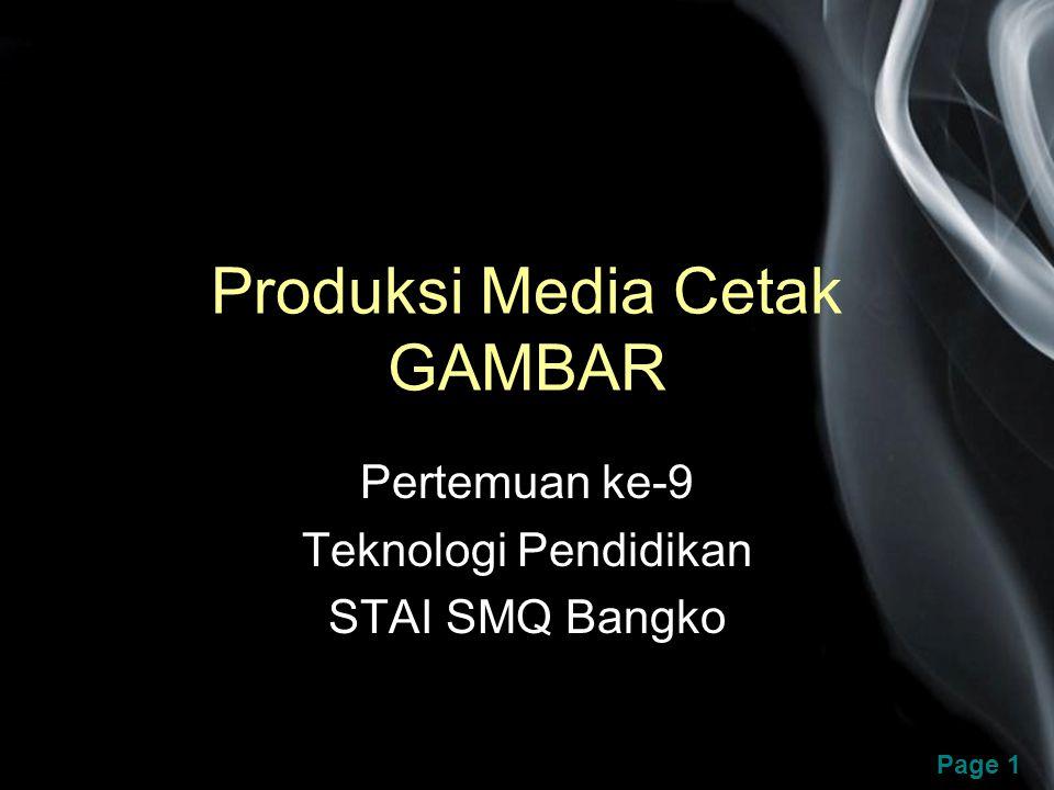 Produksi Media Cetak GAMBAR