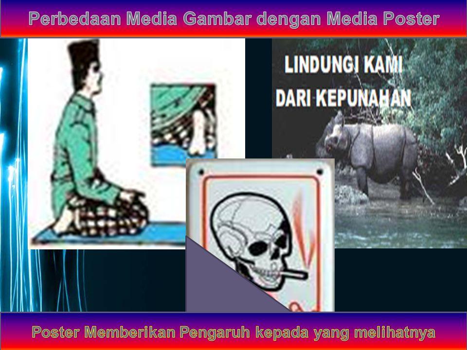 Perbedaan Media Gambar dengan Media Poster