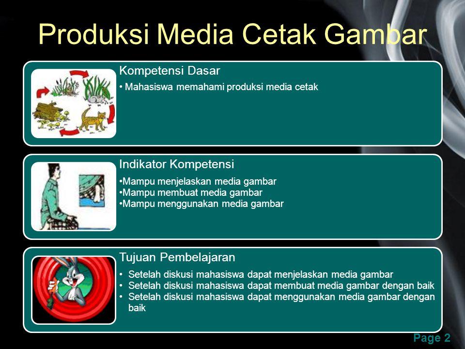 Produksi Media Cetak Gambar Ppt Download