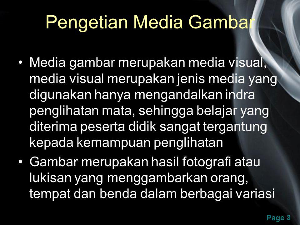 Pengetian Media Gambar