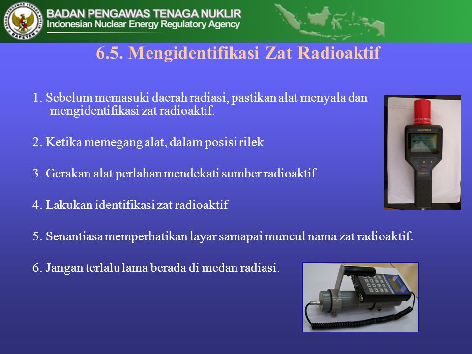 6.5. Mengidentifikasi Zat Radioaktif