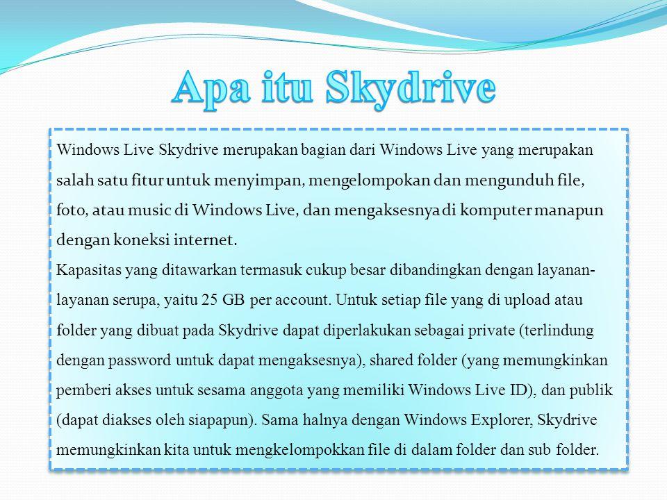 Apa itu Skydrive