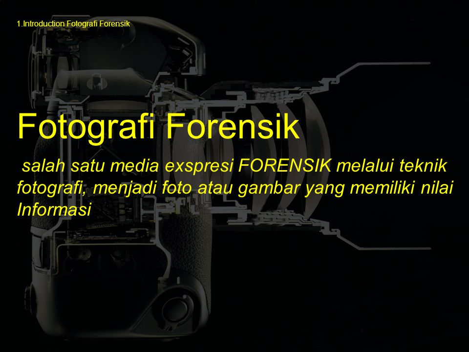 1.Introduction Fotografi Forensik