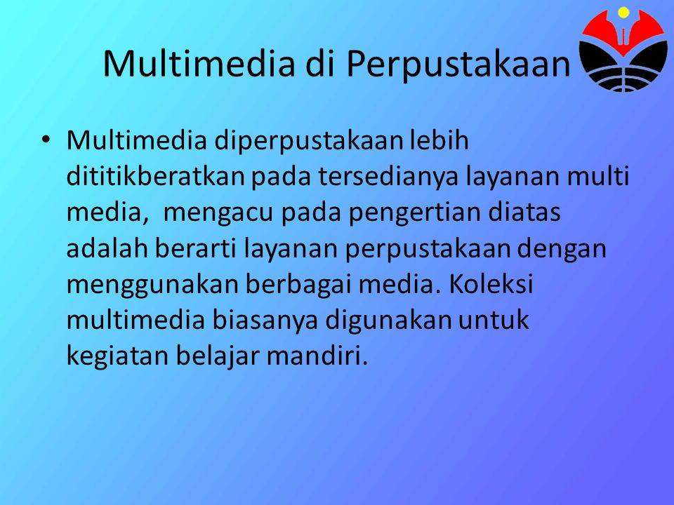 Multimedia di Perpustakaan
