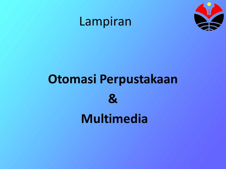 Otomasi Perpustakaan & Multimedia