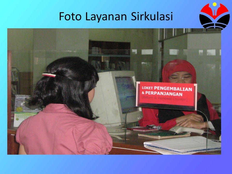 Foto Layanan Sirkulasi