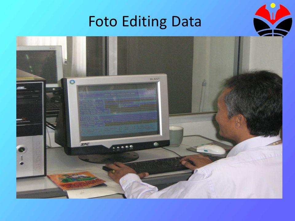 Foto Editing Data