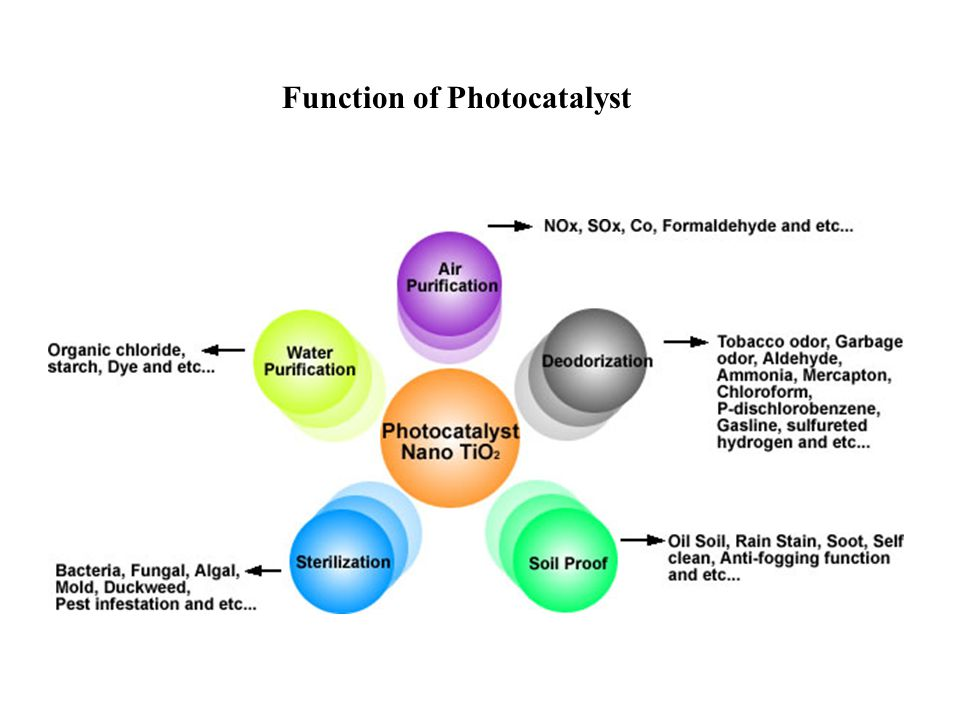 Function of Photocatalyst