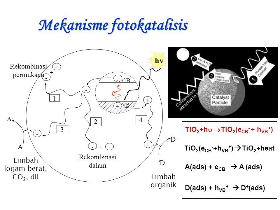 Mekanisme fotokatalisis