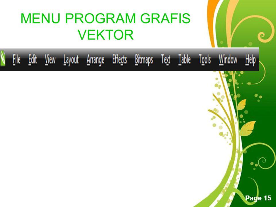 MENU PROGRAM GRAFIS VEKTOR