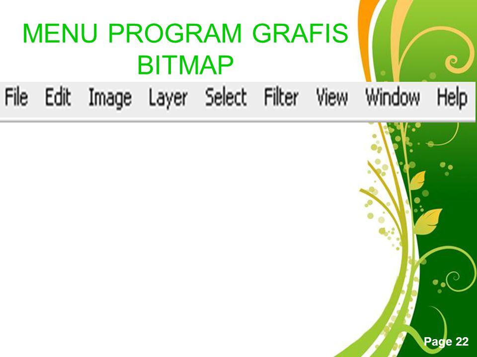 MENU PROGRAM GRAFIS BITMAP