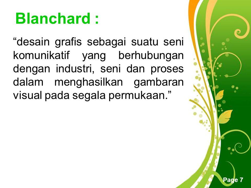 Blanchard :