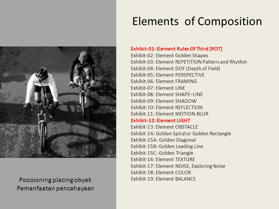 Elements of Composition