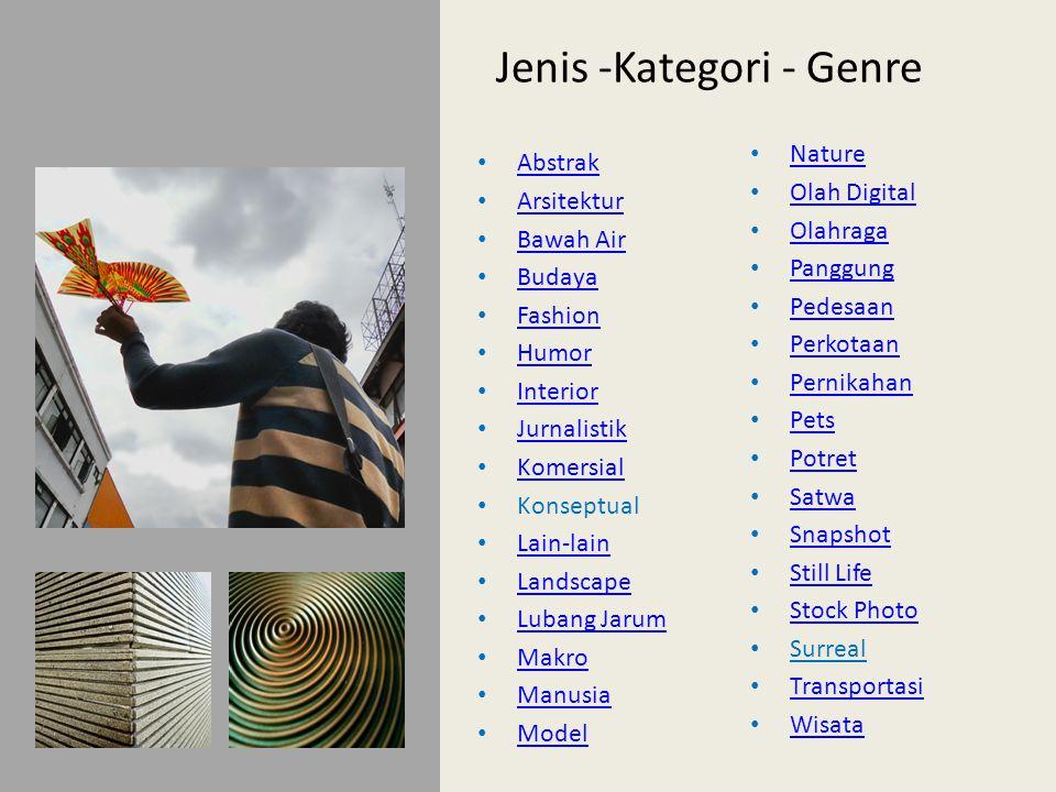 Jenis -Kategori - Genre