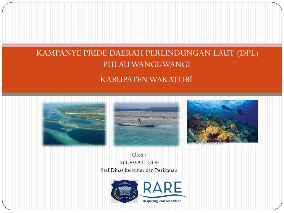 KAMPANYE PRIDE DAERAH PERLINDUNGAN LAUT (DPL) PULAU WANGI-WANGI