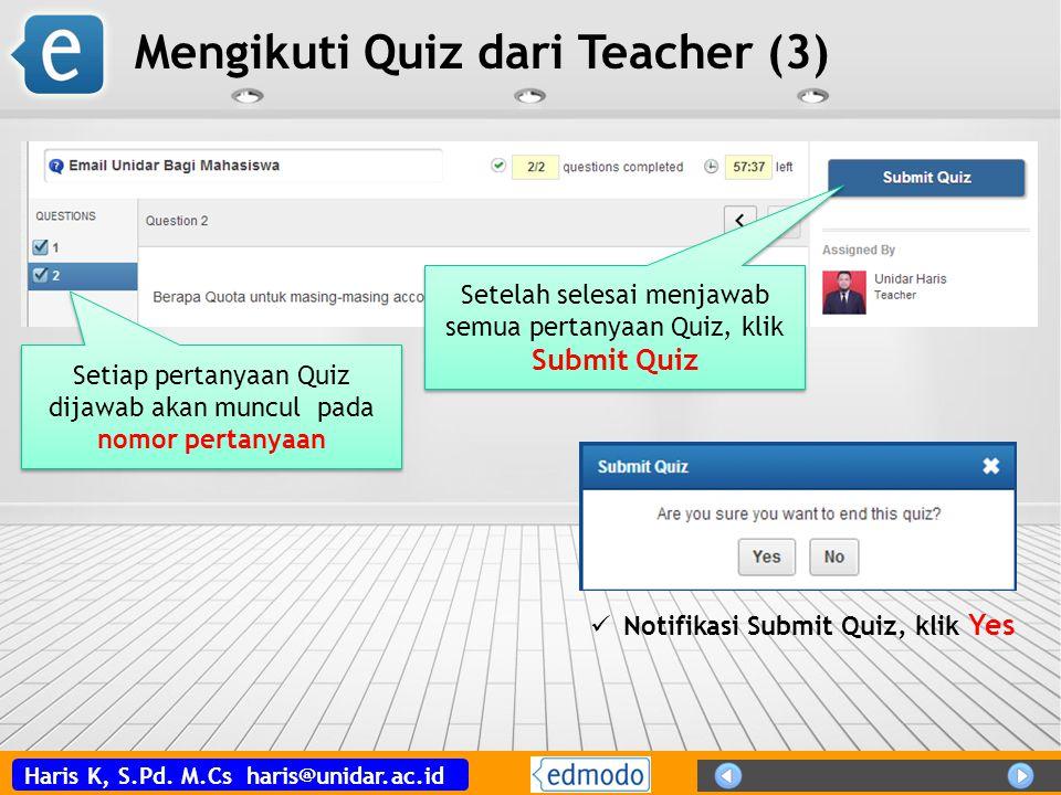 Mengikuti Quiz dari Teacher (3)