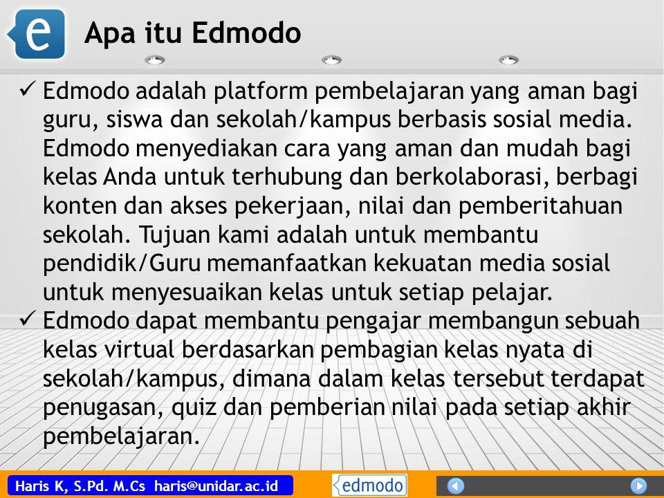 Apa itu Edmodo